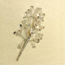 Tocados Blancos de Novia para el cabello | Complementos Carele