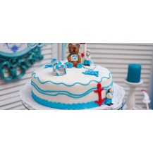 Figuras tartas para bautizo | Complementos Carele